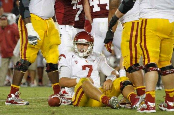 Matt Barkley USC quarterback